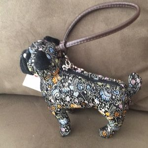 FUZZY NATION DANDIECOW PUG WRISTLET